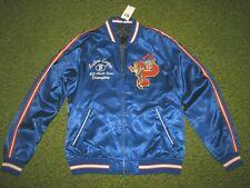 "Men's $598 (L) POLO-RALPH LAUREN Satin ""RALPH'S TIGERS"" Jacket/ Coat (Football)"