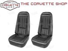 C3 Corvette Vinyl Seat Covers OEM Black 1970-1974 417820