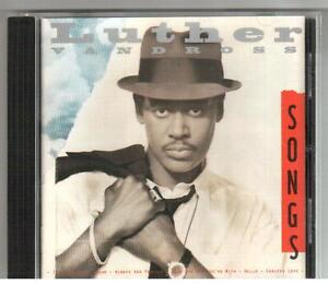 CD LUTHER VANDROSS SONGS 13 Tracks Made In Austria Duet With Mariah Carey