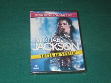 MICHAEL JACKSON TUTTA LA VERITA' 3 DVD