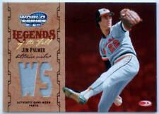 2004 Donruss World Series JIM PALMER Legends of the Fall Jersey Rare SP HOF #/25