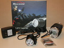 【Holiday Sale!】MagicShine MJ-872 1600 LED Light & 828 Battery pk+ free ext cable