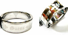 Guess Men's Ring Size 62 (19,7 Mm Ø) Stainless Steel UMR81001-62