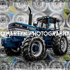 Ford TW - 35 vintage, tractor farming greetings, Birthday, Celebration card