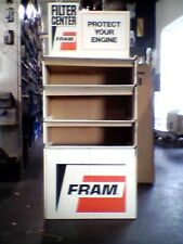 FRAM FILTER FLOOR DISPLAY, NEW IN THE BOX, 1973.