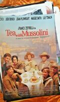 TEA WITH MUSSOLINI 1 SHEET MOVIE POSTER