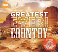 COUNTRY - GREATEST EVER (PATTI PAGE,JOHNNY CASH,SCOTT WALKER,...)  3 CD NEU