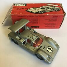 Vintage Solido Made In France No. 169 Chaparral 2F Silver Boxed