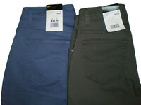 Lee Women's Relaxed Fit Mid Rise Straight Leg Stretch Sage Pier Jeans New $44