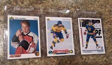 (3) Peter Forsberg 1991-92 Upper Deck Rookie card 1992-93 UD HOF Avalanche RC