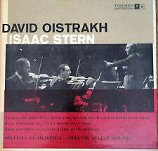 David Oistrakh & Isaac Stern  Vivaldi & Bach Director Eugene Ormandy LP NM