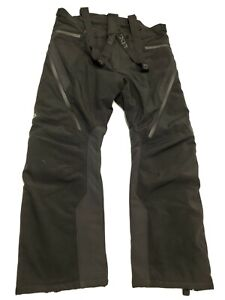 FXR Racing Black Vertical Pro Insulated Softshell Pants - 200914-1000-19