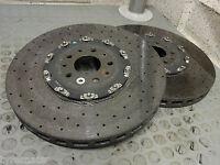 2 x KERAMIK FERRARI FF F12 274334 CCM VA Carbon Ceramic 400 x 38 vorne PAAR!