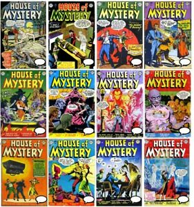 House of Mystery DC comic Complete Digital Collection #1-321 1951 Horror Fantasy