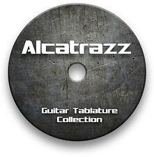 ALCATRAZZ ROCK HEAVY METAL GUITAR TAB TABLATURE SONG BOOK SOFTWARE CD