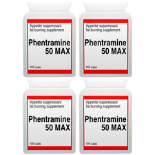 400 PHENTRAMINE 50mg MAX strong diet pills SLIMMING/WEIGHT LOSS ultra fat burner