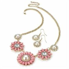 Unbranded Diamond (Imitation) Beaded Costume Necklaces & Pendants