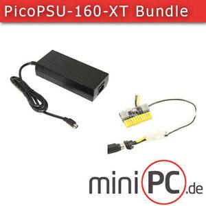 picoPSU-160-XT DC/DC 24pol ATX/Mini-ITX Netzteil (160 Watt) + AC/DC 192W Adapter