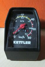 Vintage Kettler  Speedometer 60 km/h and 16.7 m/s  for Moped