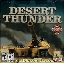 DESERT THUNDER - Tank Combat Simulation PC Game - US Version - NEW - SEALED