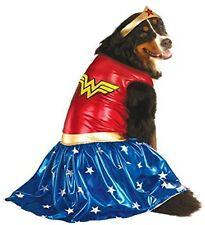 WONDER WOMAN Dog Costume - XXL - Dress & Headpiece - LARGER DOGS - Rubie's - NWT