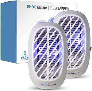 Shoo Master Indoor Plug-In Bug Zapper - Mosquito Zapper/Fly Zapper With Uv Light