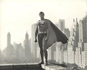 SUPERMAN THE MOVIE Christopher Reeve New York City Skyline Original 1979 Photo