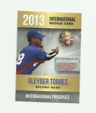 2013 GOLD PLATINUM LIMITED ED. GLEYBER TORRES INTERNATIONAL RC NM-MT