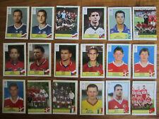 PANINI Euro 2000 - Lot de 18 images DIVERS