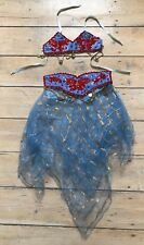 Girls Belly Dancer Costume Butterflies Lovely 5-6 Years Turkish VG condition