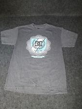Hombre Auténtico DC Moda Informal skate bmx MX Camiseta S M L Xl Xxl Gris DC 49