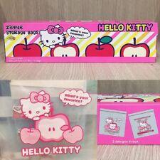 Zip lock zipper bags Hello Kitty plastic food snack storage resealable seal kid