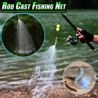 Rod Cast Fishing Net Fish Trap Play Trap Design Fishing Mesh Net No Need Hooks