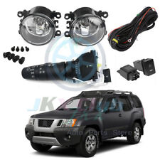 For Nissan Frontier /Xterra 2005-2019 Bumper Fog Light Kit Harnes Control Switch