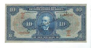 Brasil - Ten (10) Mil Reis, 1925   XF !!