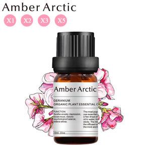 10ml Geranium x2 x3 x5 Essential Oil 100% Pure & Natural Aromatherapy Grade Oils