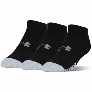 UNDER ARMOUR HeatGear® LO CUT SPORT SOCKS / GOLF ANKLE SOCKS / 3 PAIR MULTI PACK