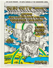 Blind Faith, Delaney, Bonnie & Friends and Free original First printing poster