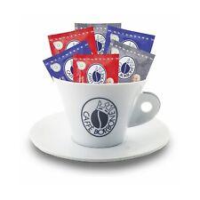 Tazzone Caffè Borbone con piattino Porta Accessori Cialde Capsule Rosso Blu Oro