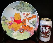 RARE Disney LE Winnie the Pooh Tigger Piglet in a Tree Ceramic Porcelain Plate