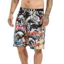 Neue Yakuza Herren Sick Allover Boardshorts - Bunt