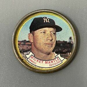 Mickey Mantle 1964 Topps Coin #120