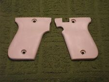 Custom Grips for Phoenix Arms HP22A / HP25 Heavy Smooth Pearl White