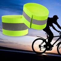 2stk Blinken Arm Band reflektierend Gurt Sicherheitsgurt  Fahrradfahren Neu P0T1