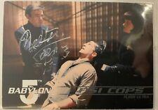 Babylon 5 Walter Koenig Hand Signed Bester 1995 Fleer Trading Card #107