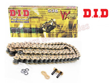 Triumph 1050 Tiger Sport (2014 to 2019) DID Gold X-Ring Heavy Duty Drive Chain