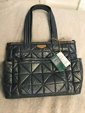 Twelvelittle Carry Love Tote Pewter Nwt Quilted Baby Diaper Bag