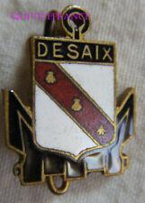 IN15719 - INSIGNE DESAIX, Contre Torpilleur, en réduction 16mm