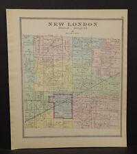 Ohio Huron County New London Township 1891  !Y14#69