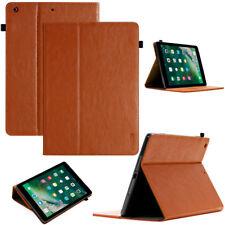 LUXURY Custodia Tablet per Apple iPad Air 1 Custodia Cover Case Stand Marrone